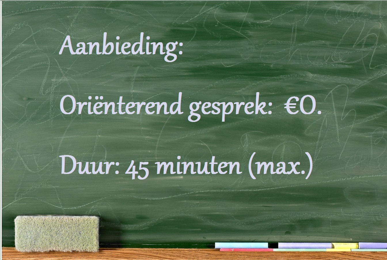 4website - Aanbiedg orienternd gespr €0